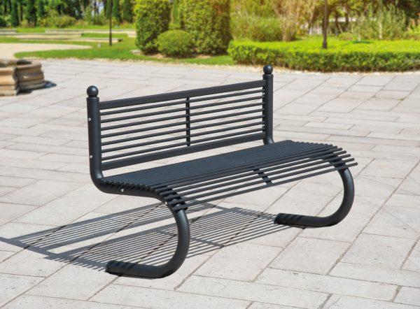 Panchine da arredo urbano panchina da giardino progetto for Helios arredo urbano